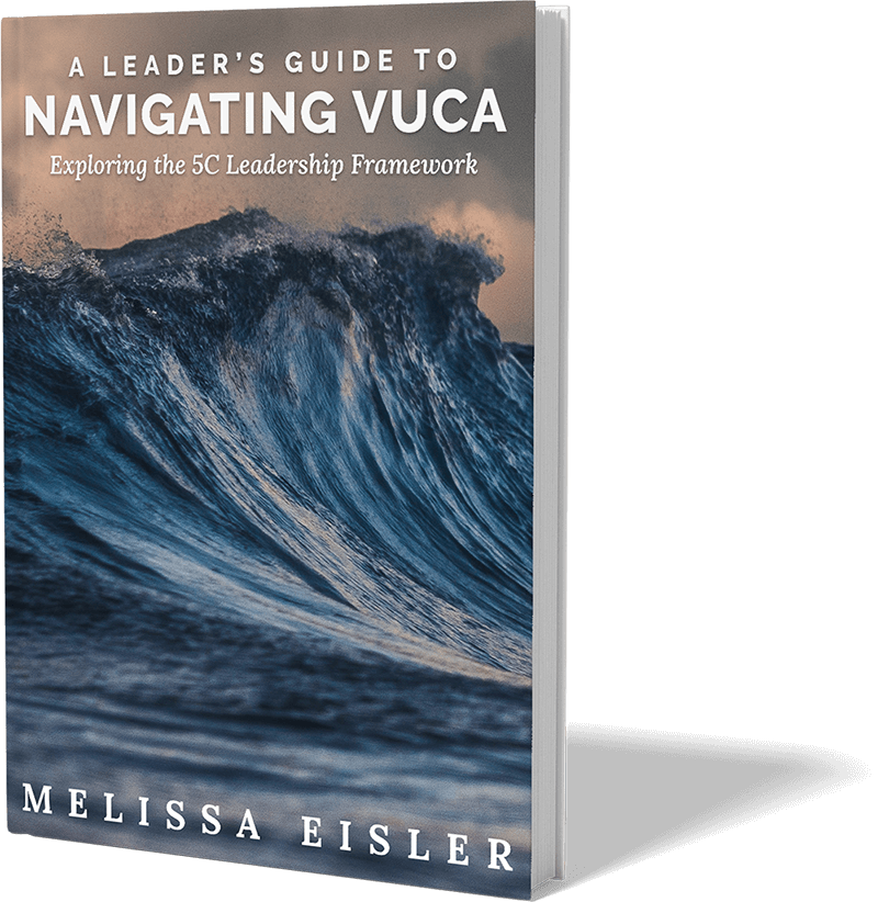 VUCA - Hard Cover Book Mockup